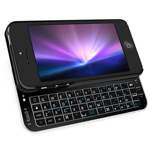 iPhone5 Bluetooth Keyboard Case-Black